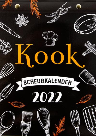 Scheurkalender 2022: kook