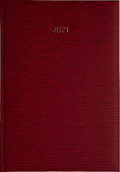 Weekagenda 2021 bordeaux (805) 17x24cm