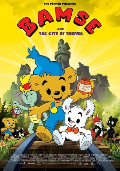 Bamse de beer - DVD