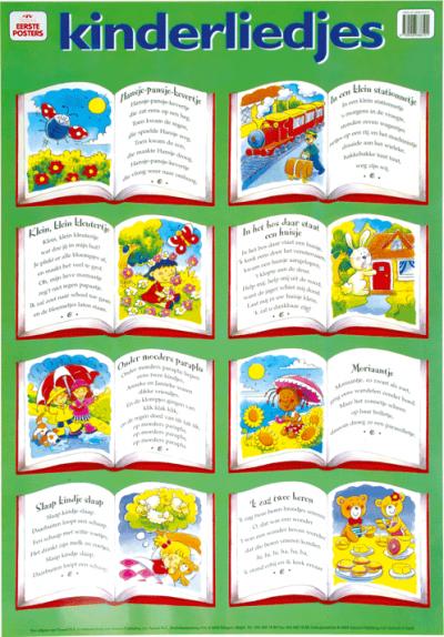 Poster Kinderliedjes
