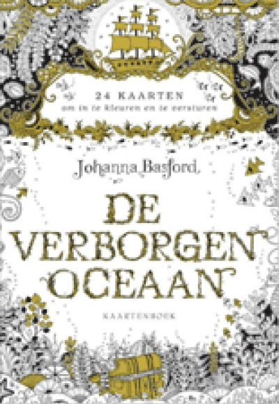 De verborgen oceaan kaartenboek
