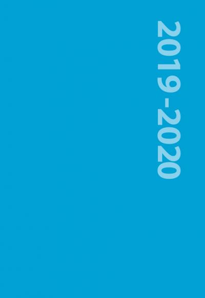 Schoolagenda 2019-2020 Blauw