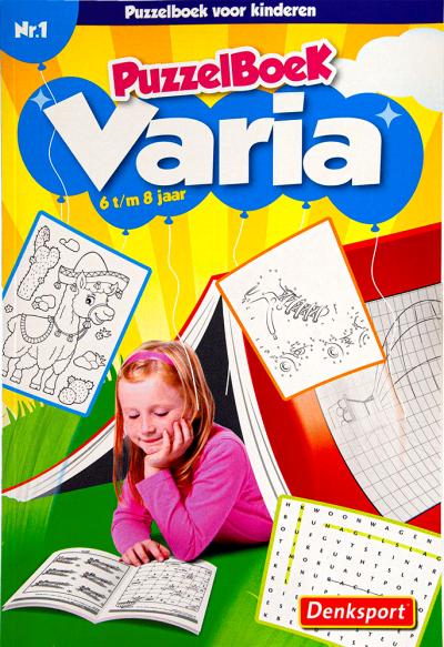Puzzelsport Kids Varia 6-8 jaar