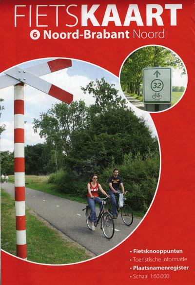 Fietskaart Noord Brabant Noord