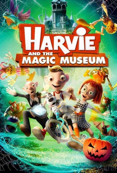 Harvie En Het Magische Museum - DVD