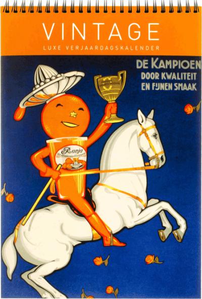 Verjaardagskalender Vintage Holland