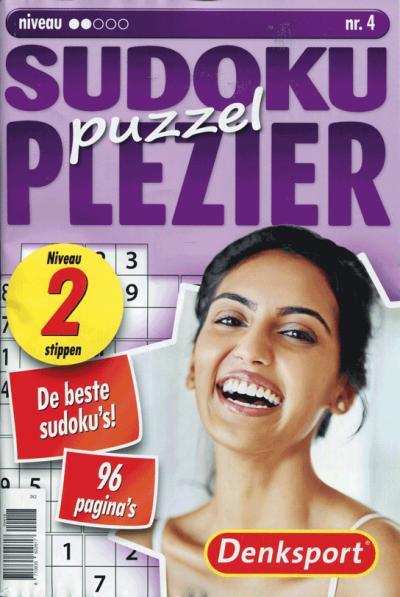 Puzzelplezier sudoku 2 ster nr 4