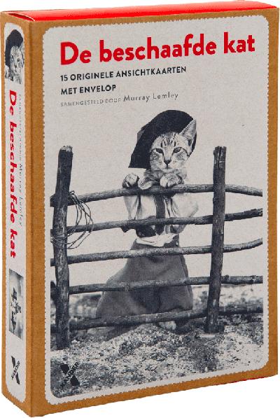 De beschaafde kat (prentbriefkaarten met envelop 15 stuks
