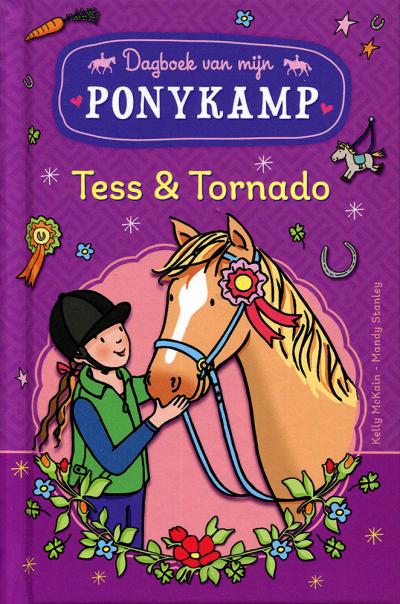 Ponykamp avonturen: het dagobek van Tess & Tornado