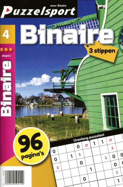 Puzzelsport 96 p. binaire 2-3 stippen nr.4