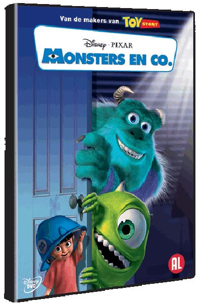 Monsters En Co - DVD