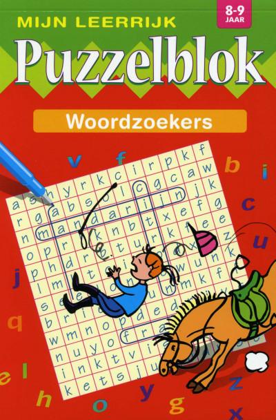 Mijn Leerrijk Puzzelblok Woordzoeker 8 tot 9 Jaar