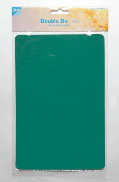 Double Do embossing folder plaat A5