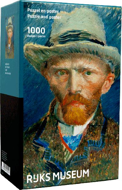 Legpuzzel van Gogh zelfportret 1000 stukjes
