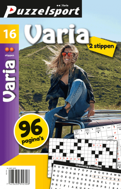 Puzzelsport 96 p varia 2 stippen nr.016