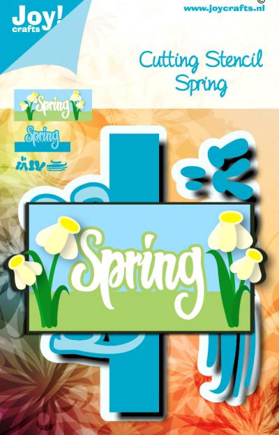 Joy Crafts stansmal Noor Design lente serie mei 20