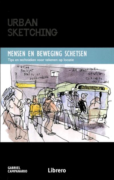 Urban Sketching - Mensen en beweging schetsen