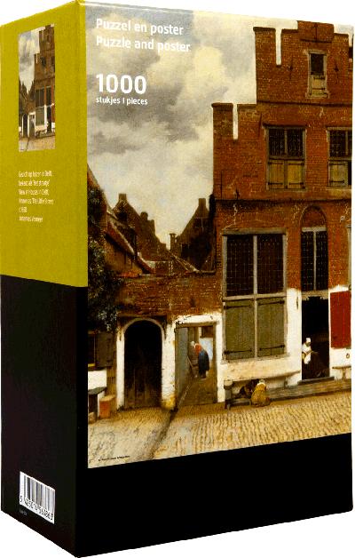 Legpuzzel Vermeer Het straatje 1000 stukjes