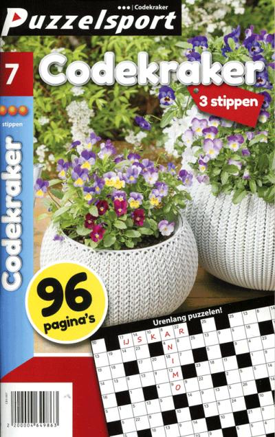 Puzzelsport 96 p. codekraker 3 stippen nr. 007