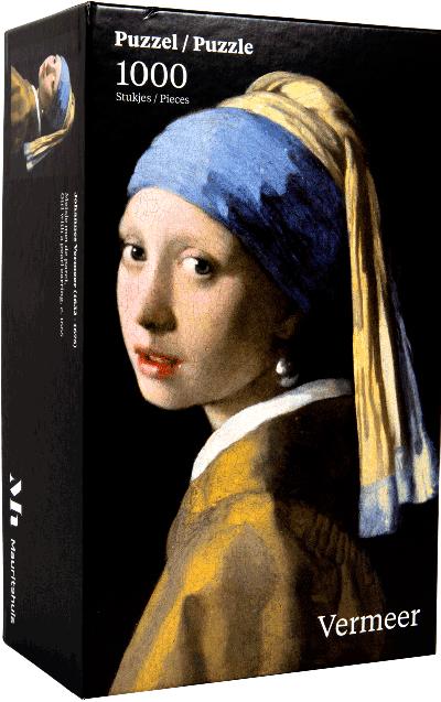 Legpuzzel Vermeer Meisje met de parel 1000 stukjes