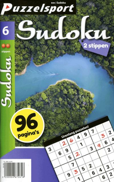 Puzzelsport Sudoku 2 stippen nr. 006