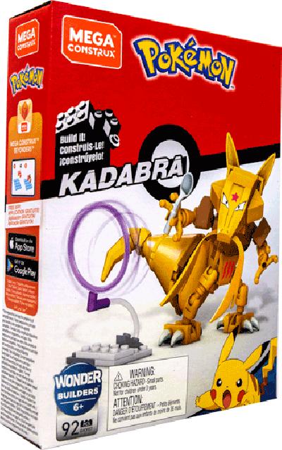 Pokemon Mega Constux bouwstenen Kadabra