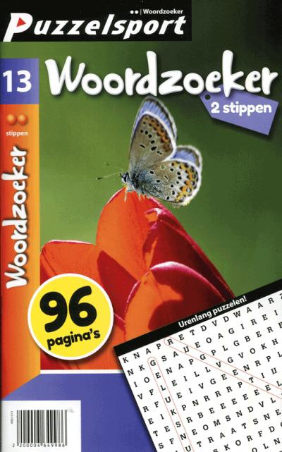 Puzzelsport 96 p. woordzoeker 2 stippen nr. 013