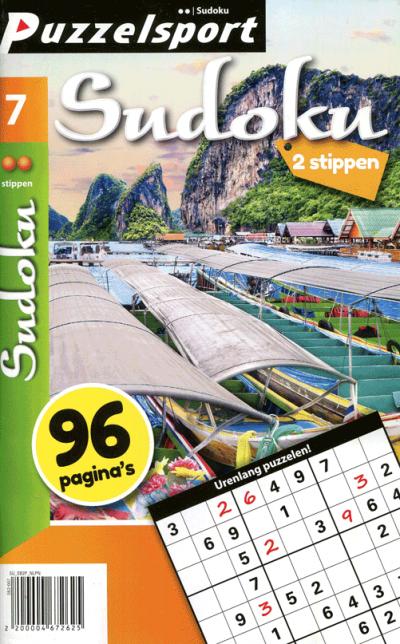 Puzzelsport Sudoku 2 stippen nr. 007
