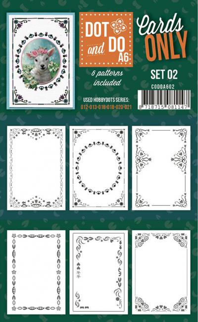 Dot & Do cards only set 2 A6