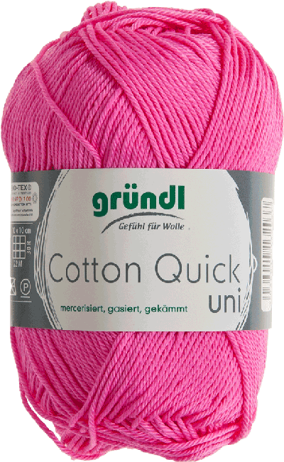 COTTON QUICK UNI 107 FRAMBOOS 50GR