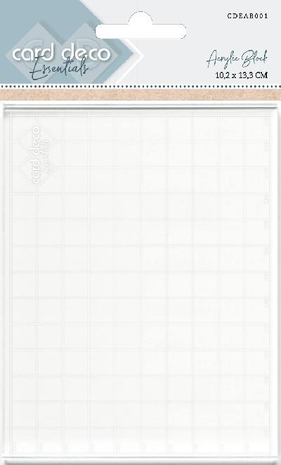 Acrylblok 10,2x13,3 cm