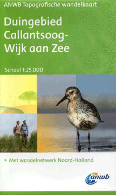 ANWB Topografische wandelkaart Duingebied Callantsoog-Wijk aan Zee