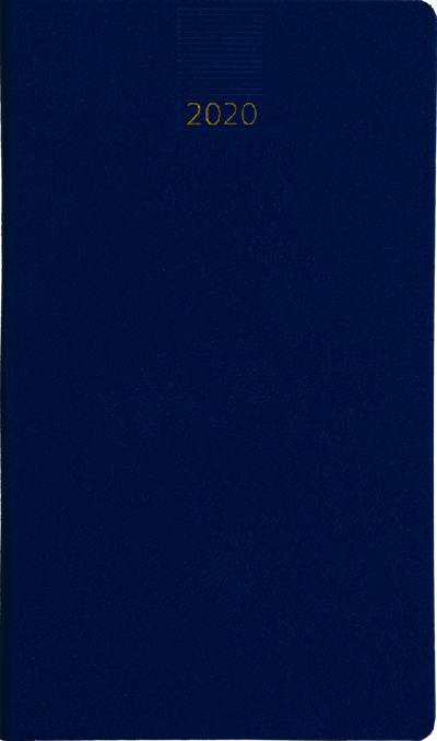 Minitimer staand zakagenda 2020 Lichtrblauw (408)