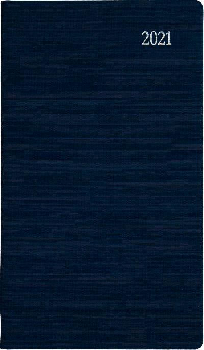 Zakagenda 2021 Lincoln staand blauw