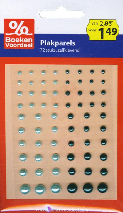 Plakparels Blauw Party 2013