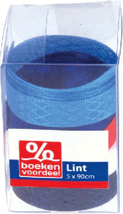 Koker lint rood-wit-blauw