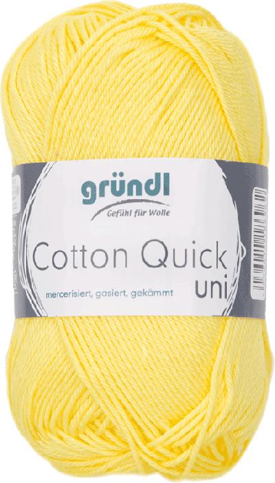 Cotton Quick Uni 131 Geel 50gr