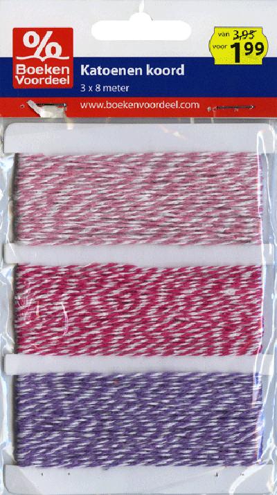 Koord roze/paars Party2013