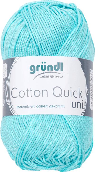 Cotton Quick Uni 141 Baby Blauw 50gr