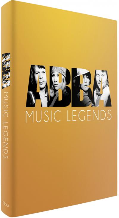 Music Legends ABBA met 2 DVD