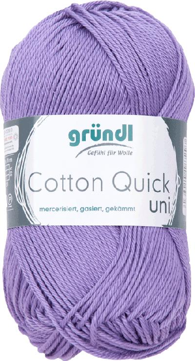 Cotton Quick Uni 142 Lavendel 50gr