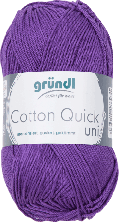 Cotton Quick Uni 130 Voilet 50gr