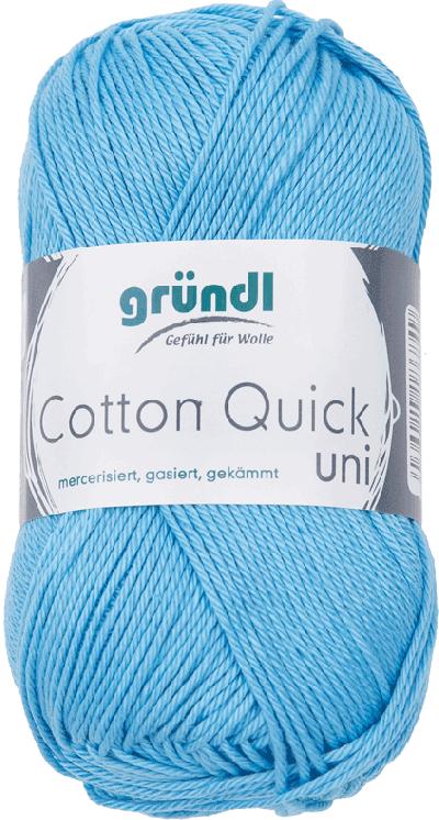 Cotton Quick Uni 127 Licht Blauw 50gr