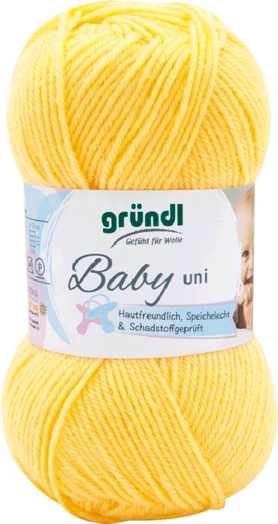 Baby uni 02 pastelgeel 50gr