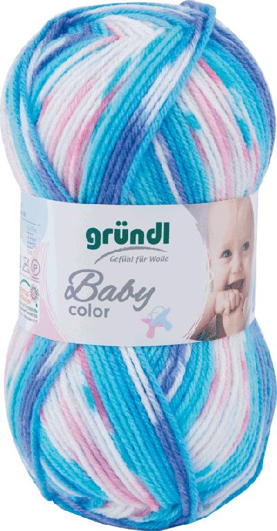 Baby color 06 turkoois multicolor