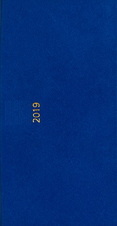 Zakagenda pockettimer liggend 2019 lichtblauw nr 304