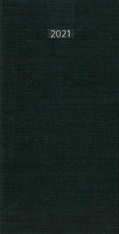 Minitimer zakagenda 2021 staand zwart (993)