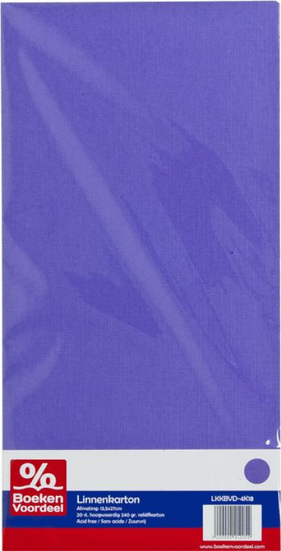 Linnenkarton Violet