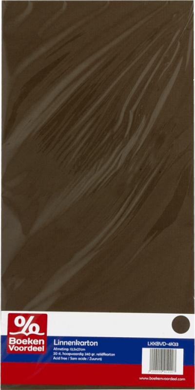 Linnenkarton Chocolade Bruin
