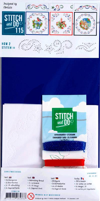 Stitch & Do 115 Christmas birds